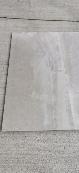 Keramische Terrassenplatte Outdoor 90x45x2 cm Lehmfarben