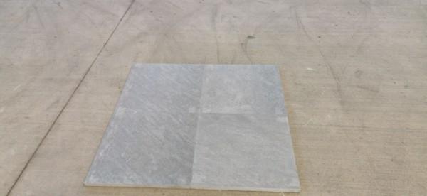 Feinsteinzeug Keramik Terrassenplatte 3 CM DIE STARKE Outdoor 60x60x3 cm smoke 303631