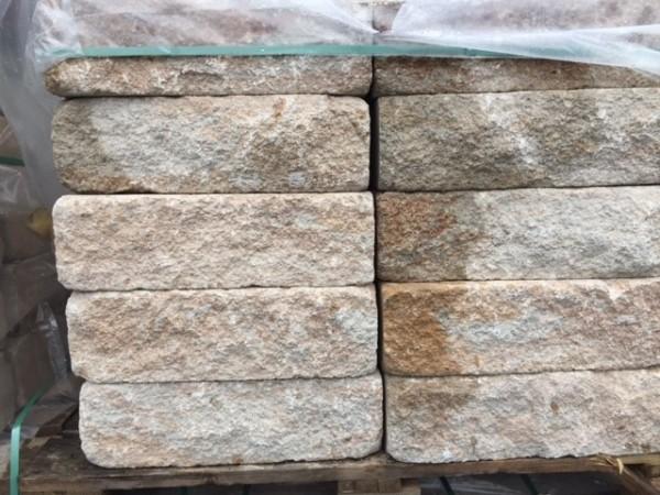 XXL Trockenmauer Bausopo 50x25x15 cm sandstein-gelb #590